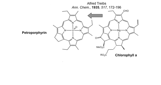 Porphyrin structures