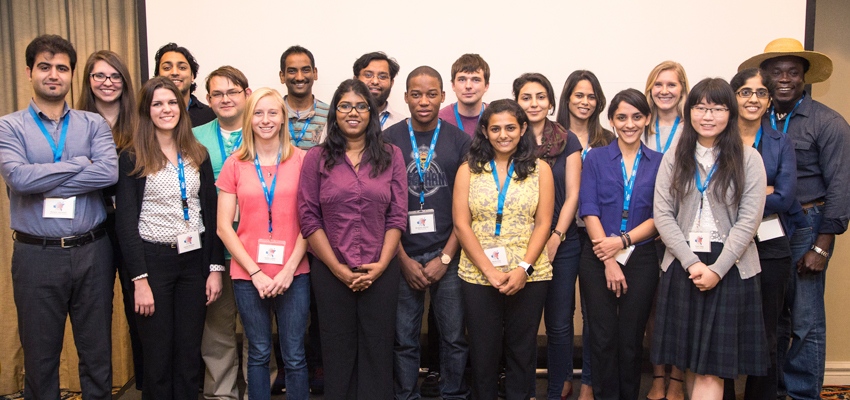 Scientists at the 44th Southeastern Magnetic Resonance Conference.
