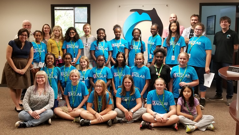 SciGirls I at the Florida Center for Interactive Media