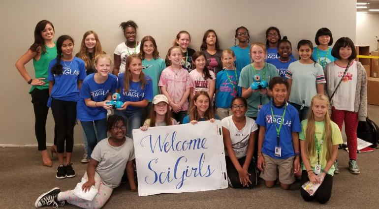 SciGirls I 2018 Day 2