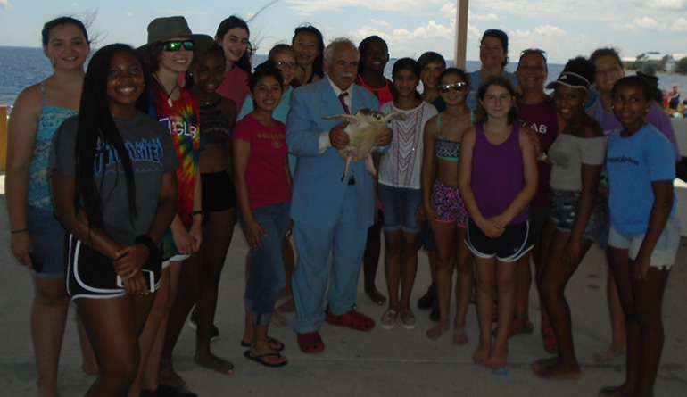 SciGirls 2 with Jack Rudloe, founder and owner of Gulf Specimen Marine Lab