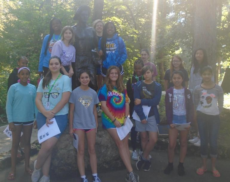 SciGirls2 visit the Florida State Caverns in Marianna, FL