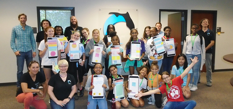SciGirls Discover at the Florida Center for Interactive Media (FCIM)