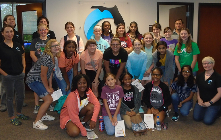 SciGirls at Florida Center for Interactive Media (FCIM)