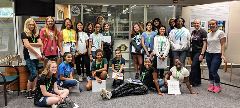SciGirls Quest MagLab Tour