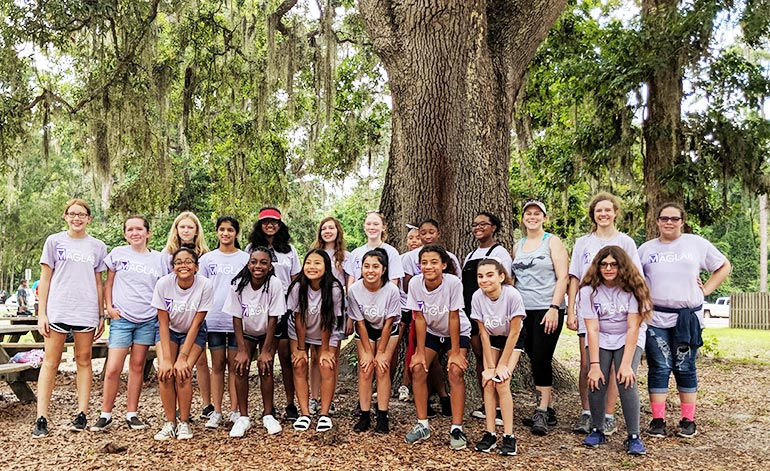 SciGirls Quest with Dr. Marcy Cockrell at Wakulla Springs State Park