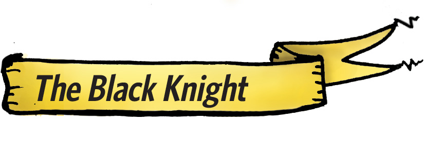 The Black Knight banner
