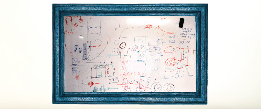 Whiteboards Scratchpad by William Coniglio