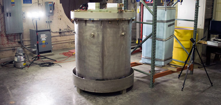 Duplex magnet at the Pulsed Field Facility.