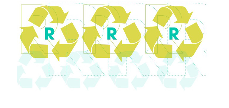 Recycle, Reuse, Reduce - Graphic by Caroline McNiel