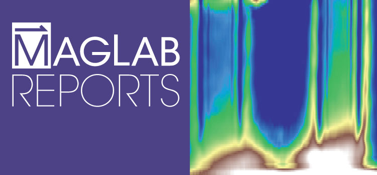 Cover of Volume 22, Issue 2 of MagLab Reports