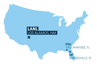 map of Los Alamos, NM