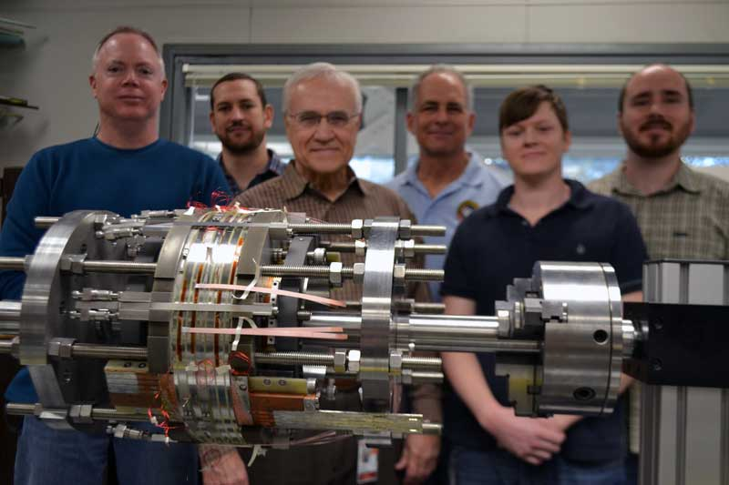 Team behind the 32 tesla all superconducting magnet.