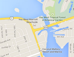 keywest map