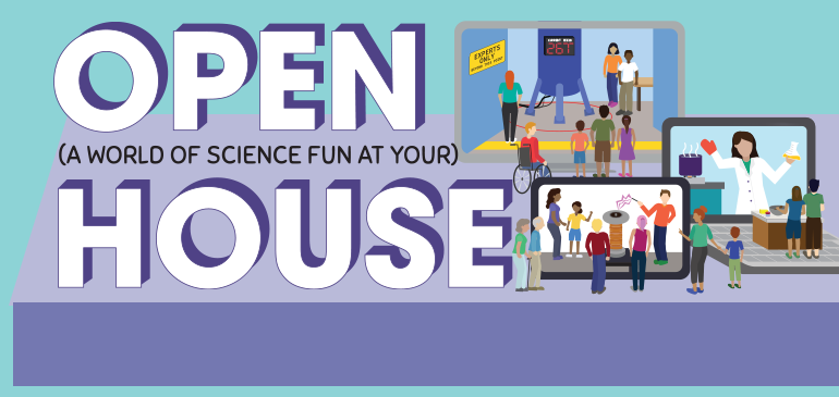 2021 MagLab Open House banner