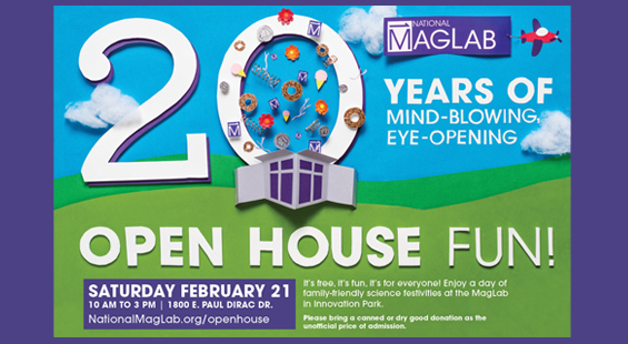 Open House poster.