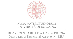Department of Physics and Astronomy of the University of Bologna logo