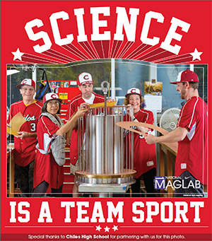 Team science poster Resistive Magnet Shop thumbnail