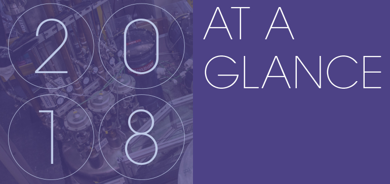 2018 At a Glance - MagLab Annual Report