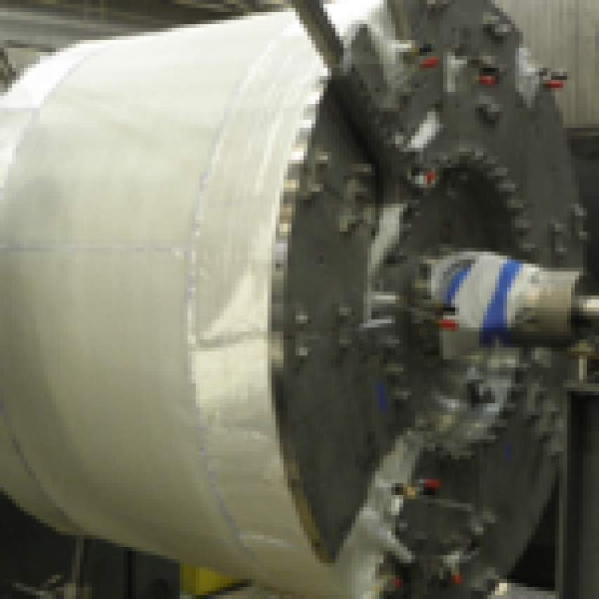 New Fab Lab Promotes Careers In Science Techology: Large Cable-in-Conduit Coil Fabrication At The MagLab