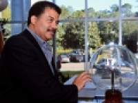 At the lab: Celebrity scientist Neil deGrasse Tyson