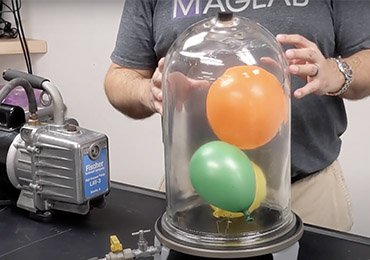 Atmospheric pressure demonstration