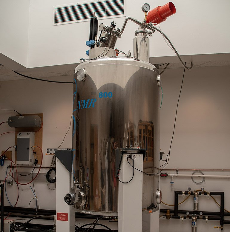 800 MHz 63 mm NMR Magnet #3 located at the MagLab's AMRIS Facility at the University of Florida in Gainesville.