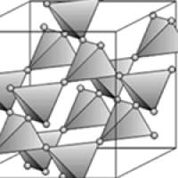 Corner-sharing tetrahedra  of the pyrochlore structure