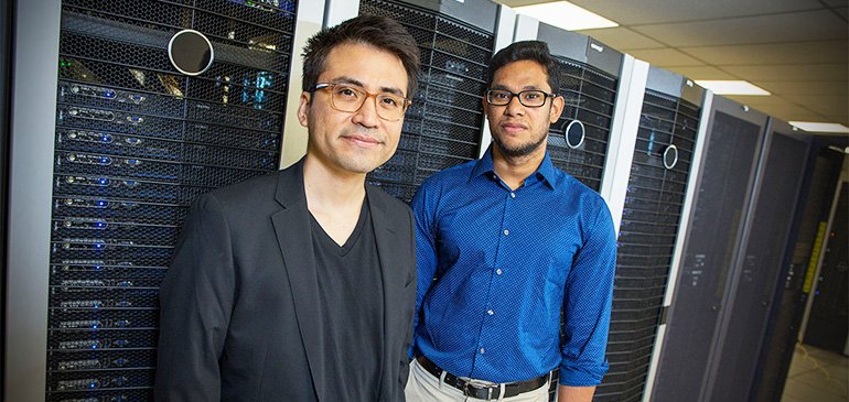 Assistant Professor Jose Mendoza-Cortes and postdoctoral researcher A. Nijamudheen teamed with researchers from Cornell to design a more efficient battery.