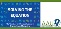 "Director of the MagLab's Center for Integrating Research and Learning (CIRL) presented a key portion of the research agenda outlined in the AAUW report entitled ""Solving the Equation: The Variables for Women's Success in Engineering and Computing."""
